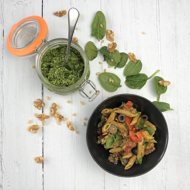 The MIndful Cook Pasta Pesto