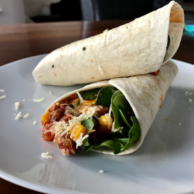The Mindful Cook Bean Wrap