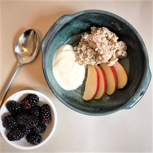 The Mindful Cook Apple Overnight Oats