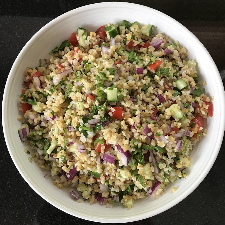 The Mindful Cook Tabbouleh