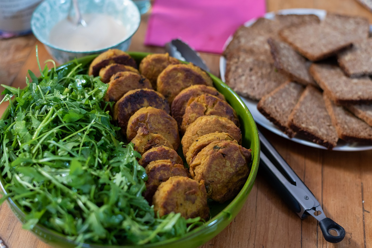 The Mindful Cook Sweet Potato Falafels
