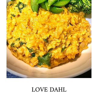 Turmeric and coconut Dahl The Mindful Cook