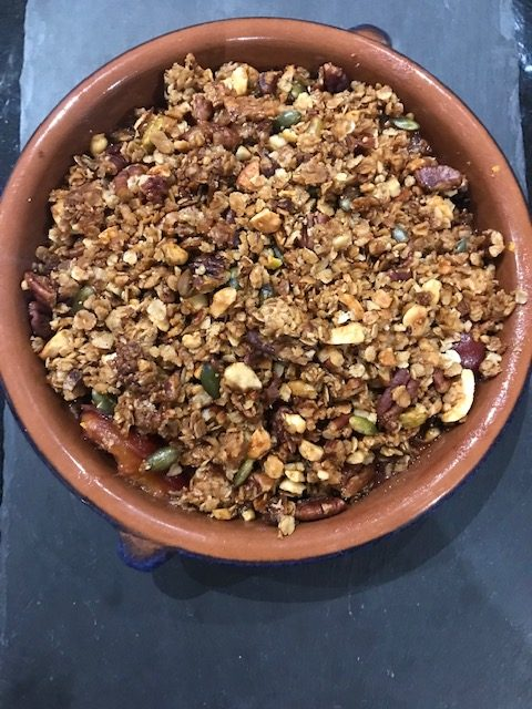 The Mindful Cook Plum Crumble